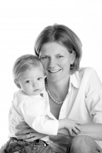 Nicole mit ihrem Sohn